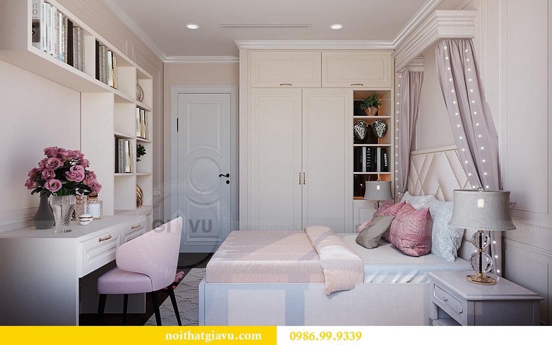 Thiết kế thi công nội thất chung cư Green Bay G1 06-08A nhà chị Lan 14