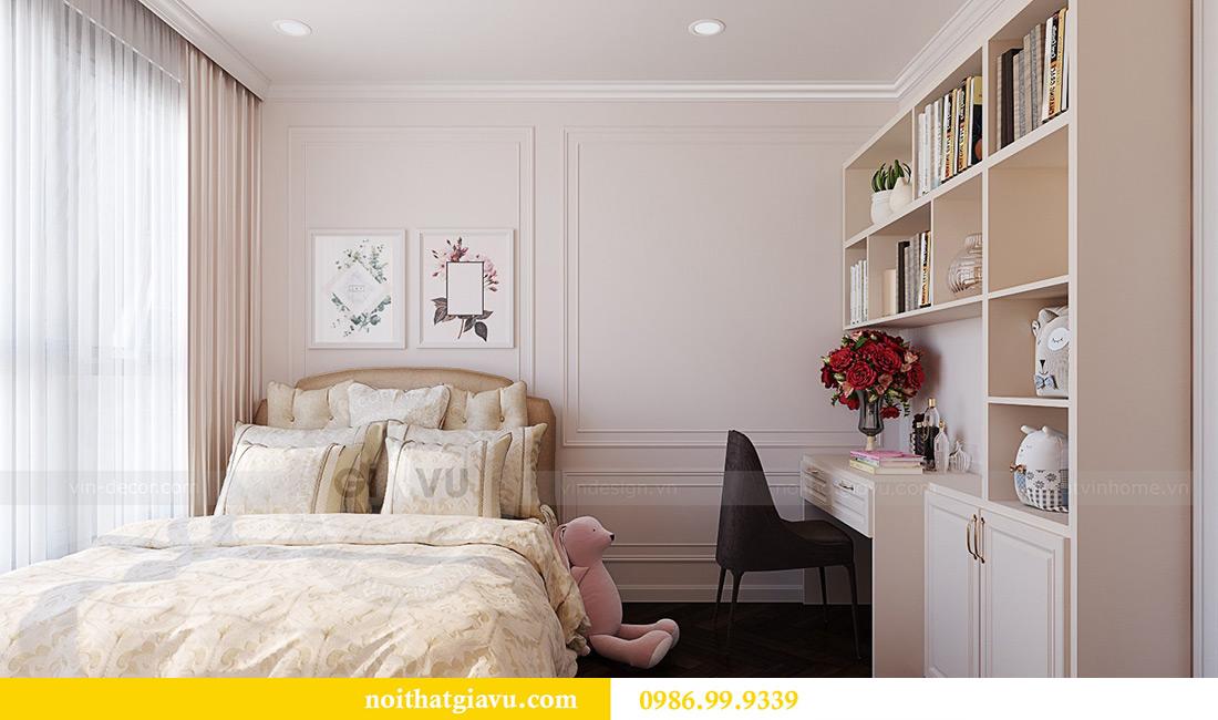 Thiết kế thi công nội thất chung cư Green Bay G1 06-08A nhà chị Lan 15