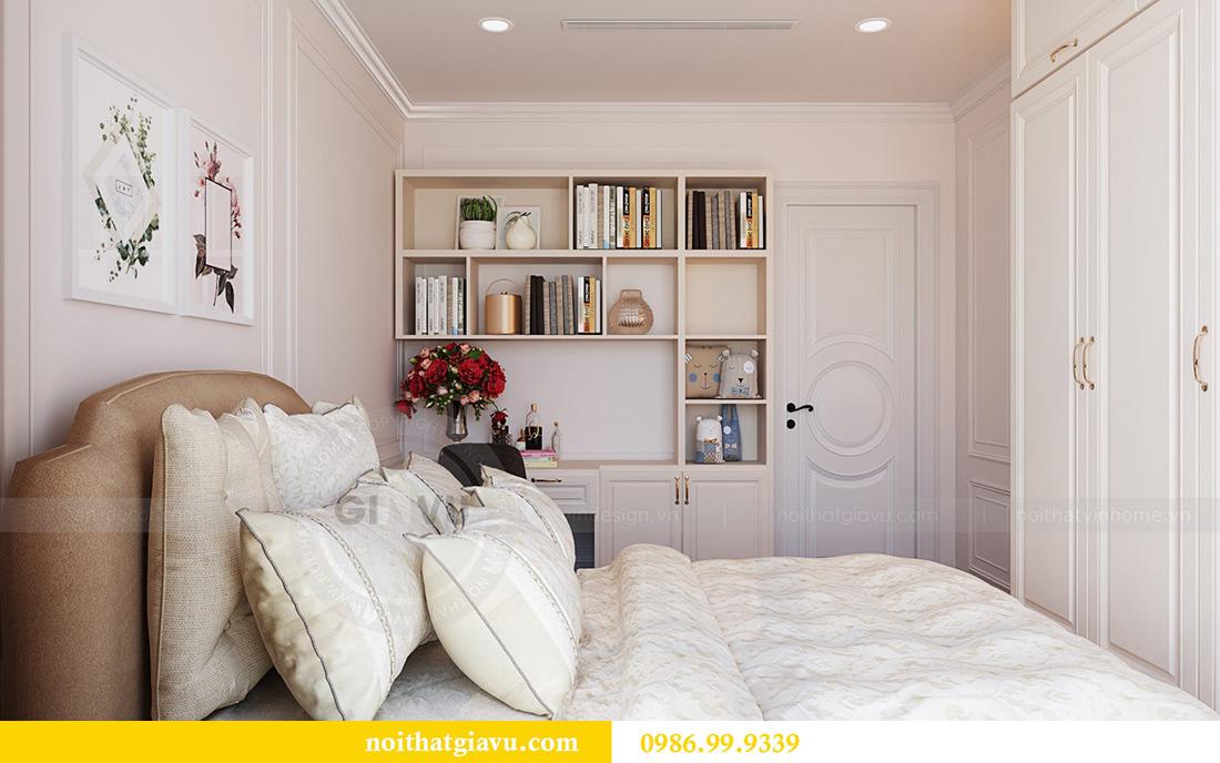 Thiết kế thi công nội thất chung cư Green Bay G1 06-08A nhà chị Lan 17
