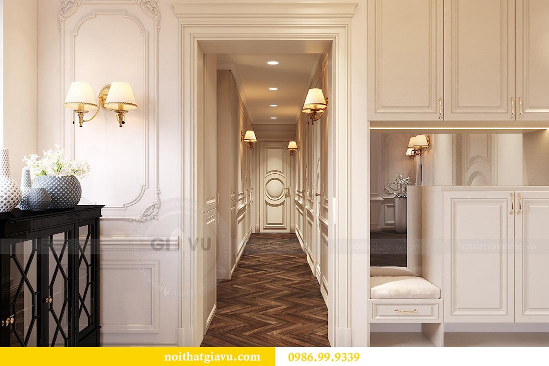 Thiết kế thi công nội thất chung cư Green Bay G1 06-08A nhà chị Lan 7