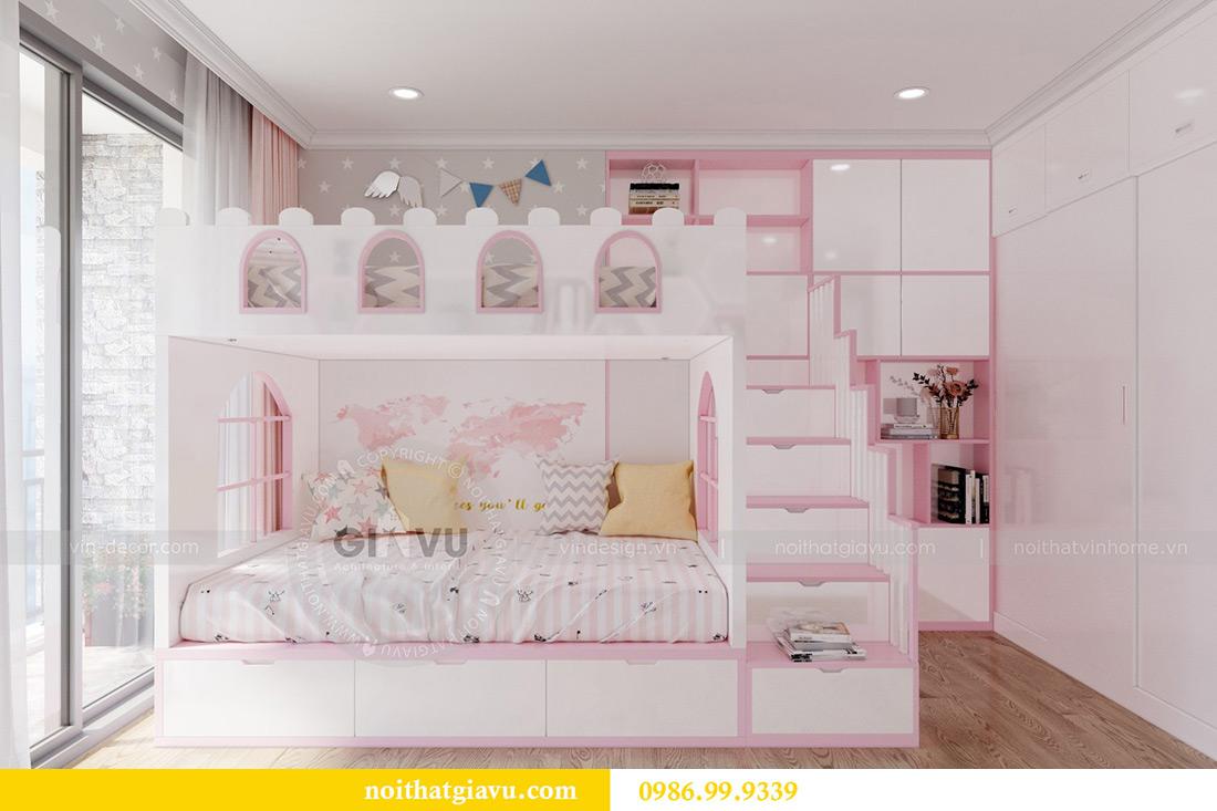 Thiết kế căn hộ chung cư Vinhomes Sky Lake tòa S2 nhà chị Hà 10