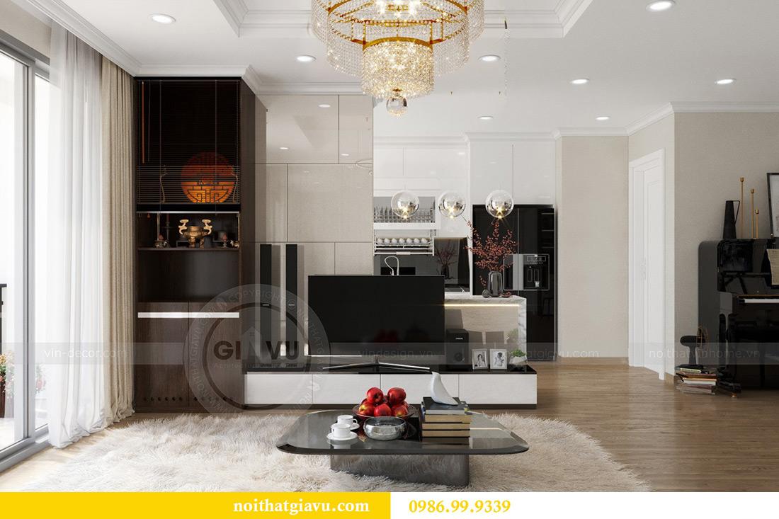 Thiết kế căn hộ chung cư Vinhomes Sky Lake tòa S2 nhà chị Hà 2