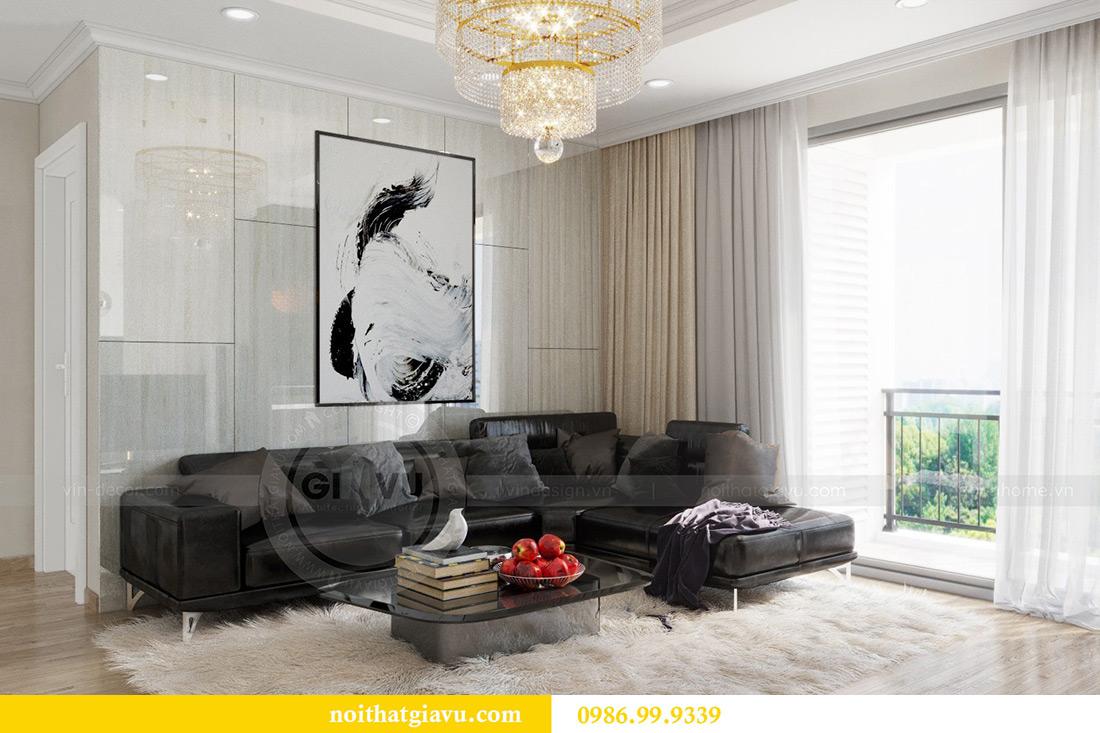 Thiết kế căn hộ chung cư Vinhomes Sky Lake tòa S2 nhà chị Hà 5