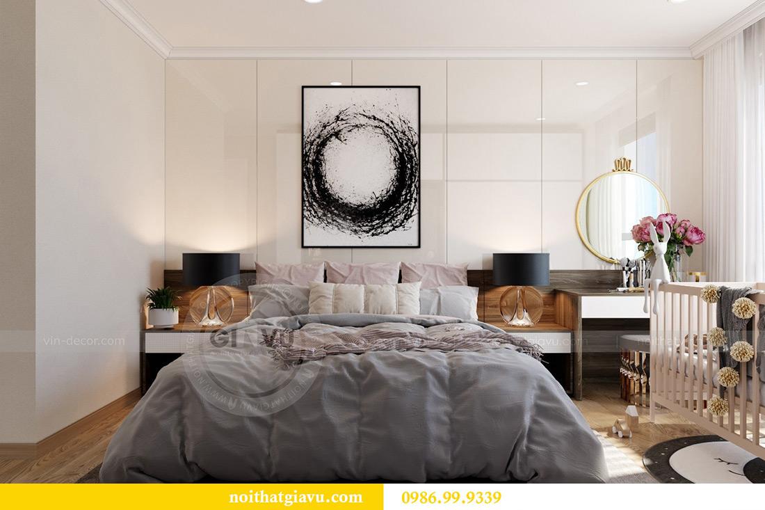 Thiết kế căn hộ chung cư Vinhomes Sky Lake tòa S2 nhà chị Hà 6