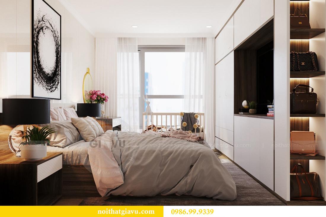 Thiết kế căn hộ chung cư Vinhomes Sky Lake tòa S2 nhà chị Hà 8