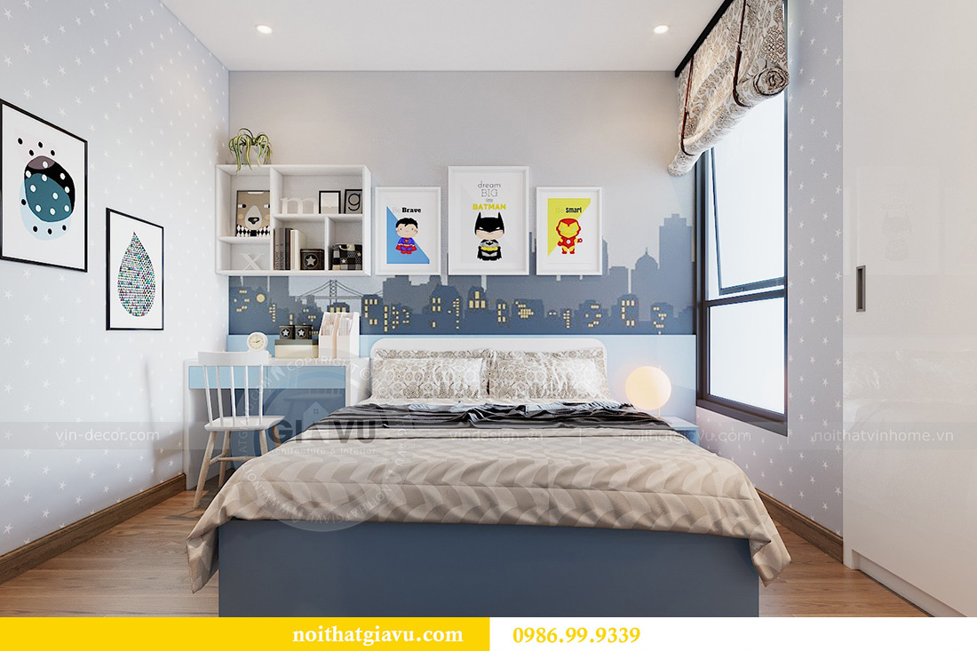 Thiết kế nội thất căn hộ Metropolis tòa M3 01 nhà anh Thịnh 11