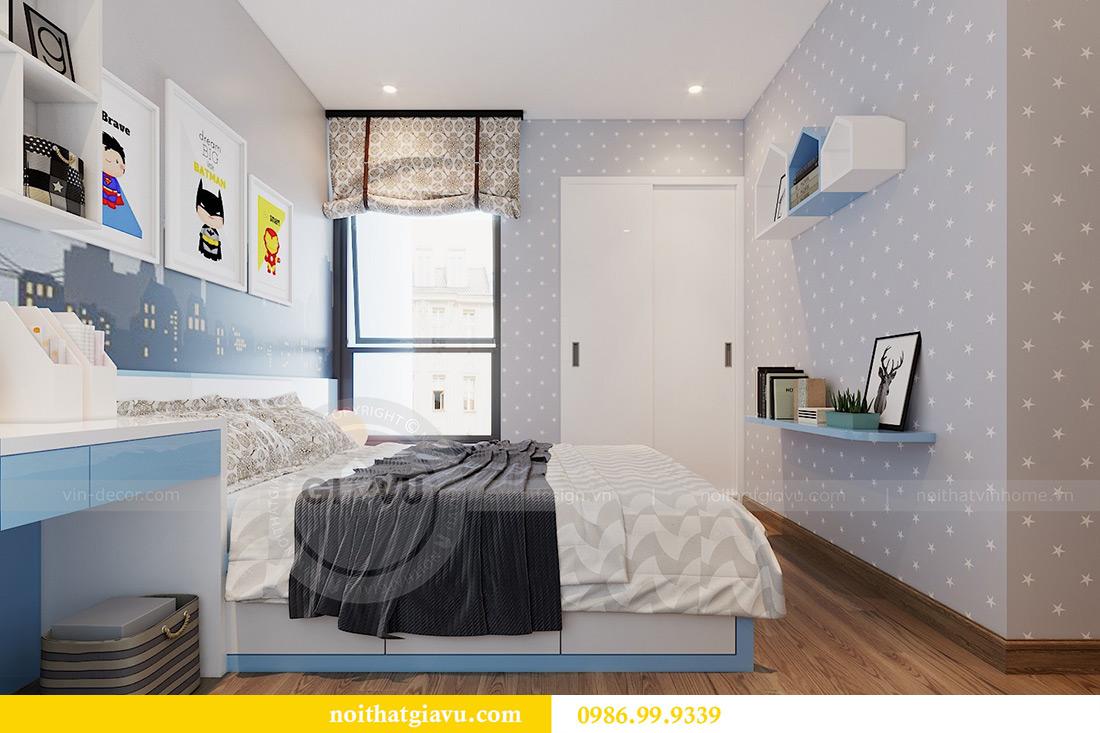 Thiết kế nội thất căn hộ Metropolis tòa M3 01 nhà anh Thịnh 12