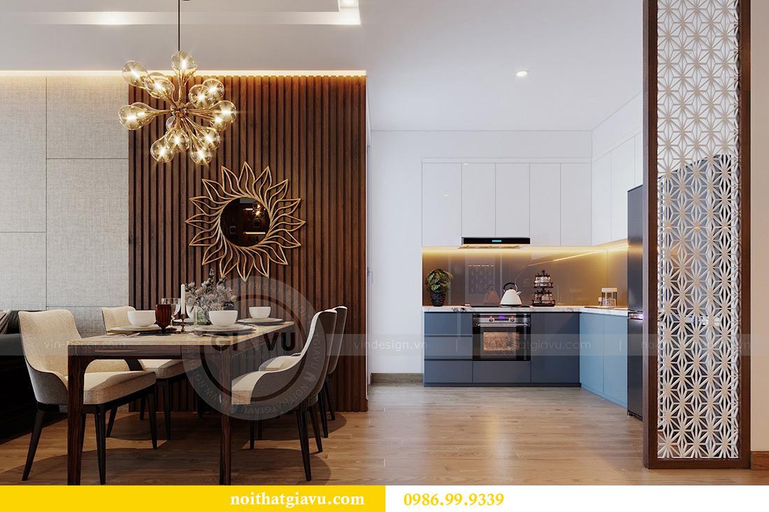 Thiết kế nội thất căn hộ Metropolis tòa M3 01 nhà anh Thịnh 2