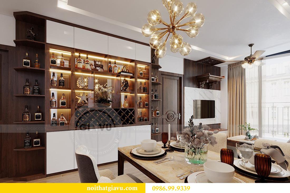 Thiết kế nội thất căn hộ Metropolis tòa M3 01 nhà anh Thịnh 3