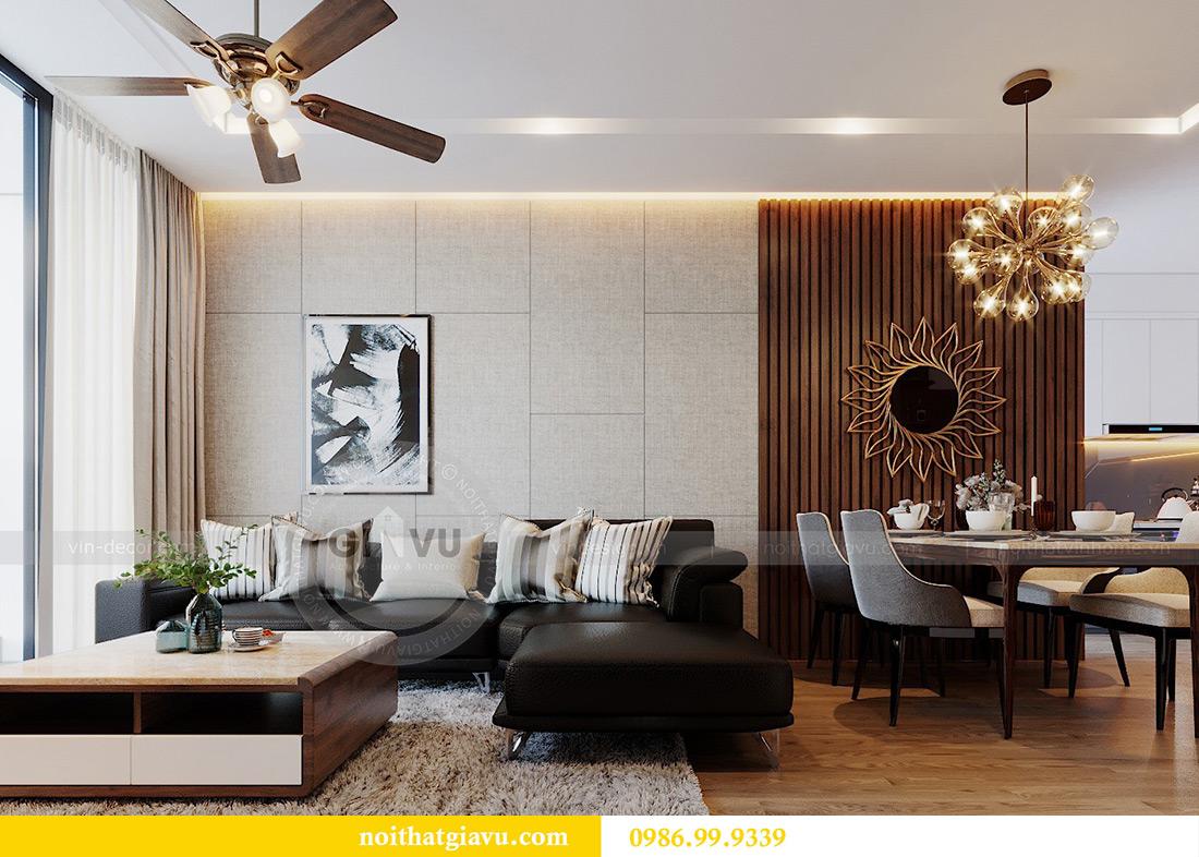 Thiết kế nội thất căn hộ Metropolis tòa M3 01 nhà anh Thịnh 4