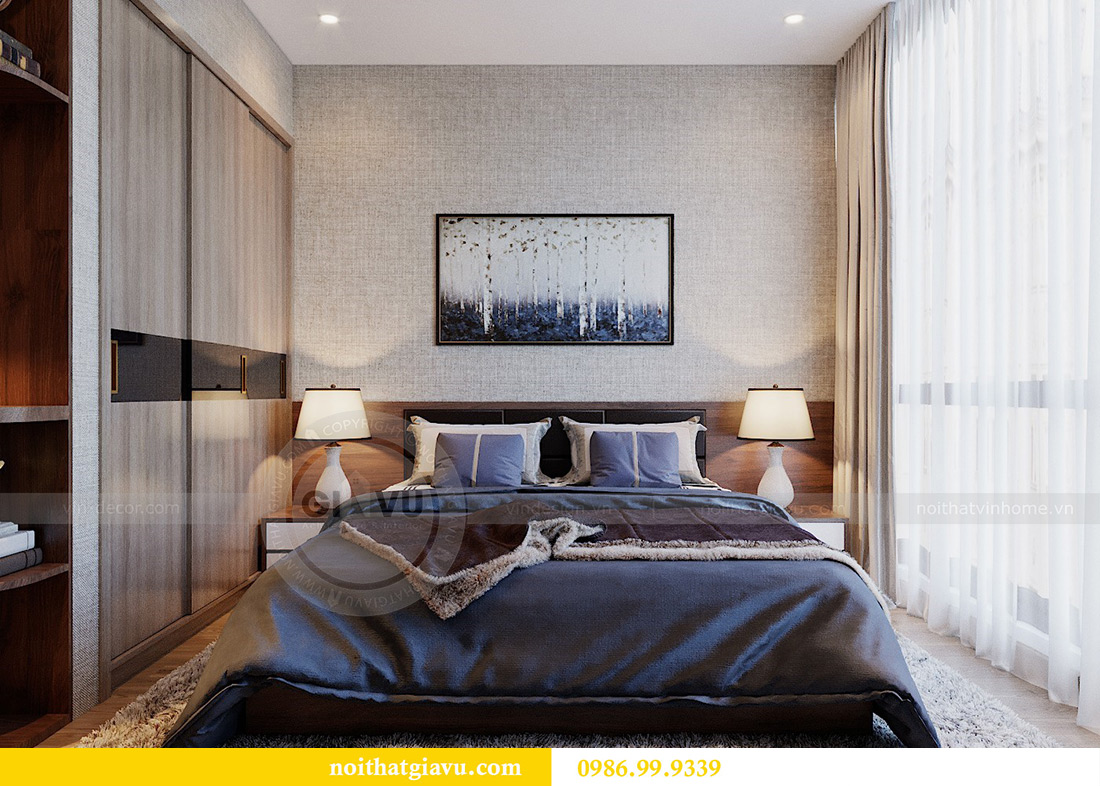 Thiết kế nội thất căn hộ Metropolis tòa M3 01 nhà anh Thịnh 7
