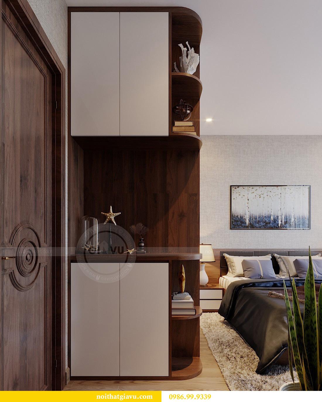 Thiết kế nội thất căn hộ Metropolis tòa M3 01 nhà anh Thịnh 9