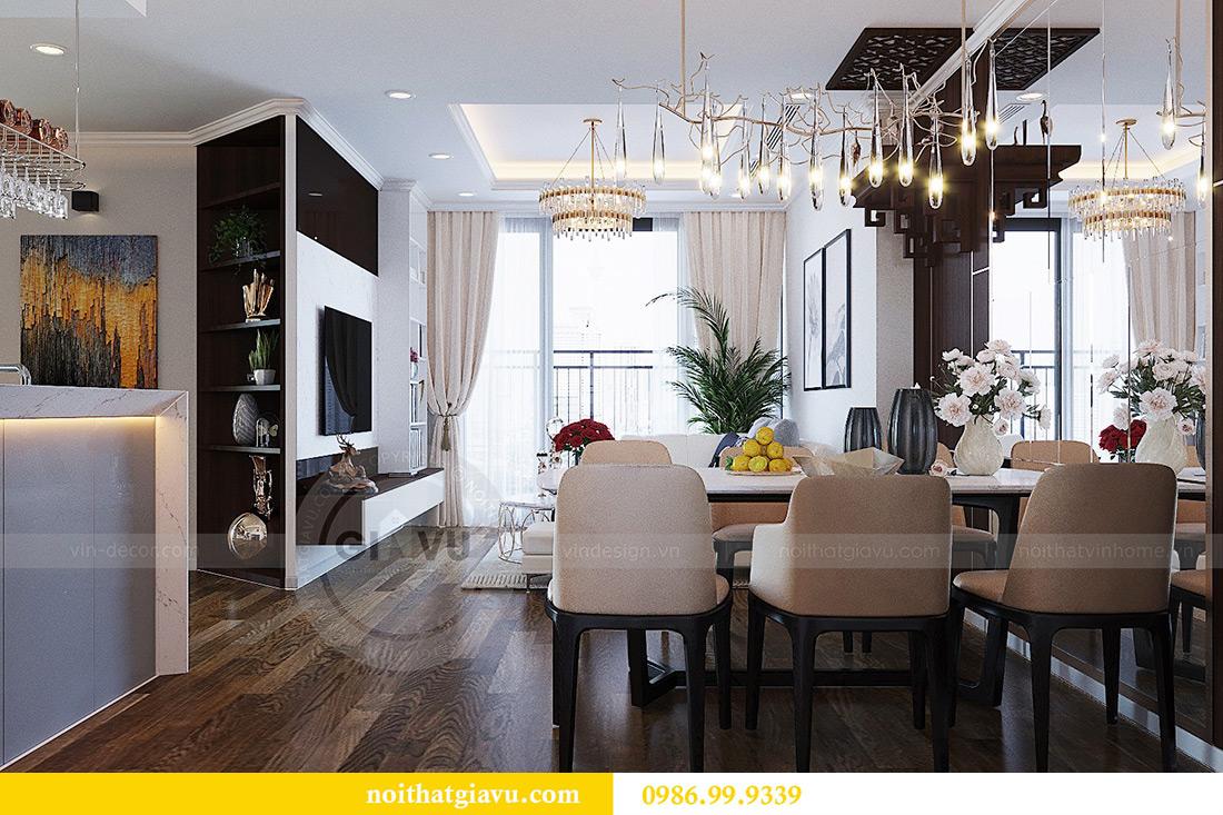Thiết kế nội thất chung cư Green Bay tòa G3 đẹp hiện đại 1