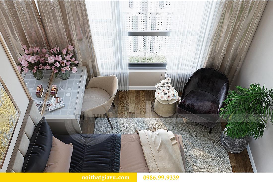 Thiết kế nội thất chung cư Green Bay tòa G3 đẹp hiện đại 10