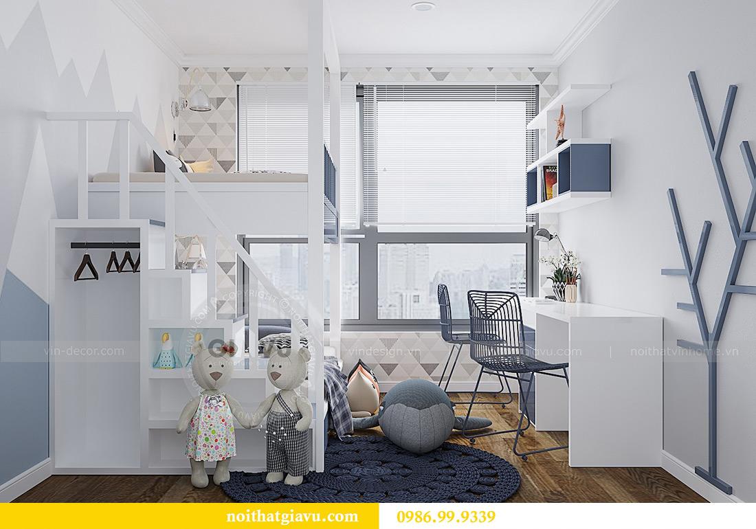 Thiết kế nội thất chung cư Green Bay tòa G3 đẹp hiện đại 12