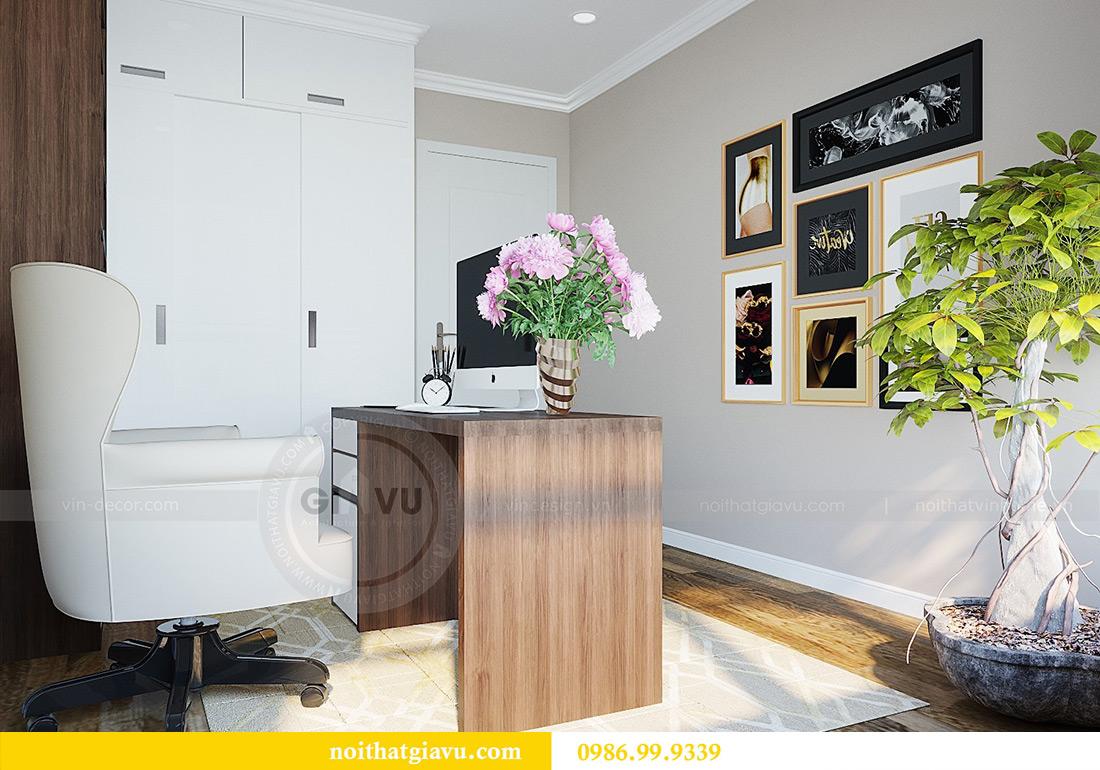 Thiết kế nội thất chung cư Green Bay tòa G3 đẹp hiện đại 14