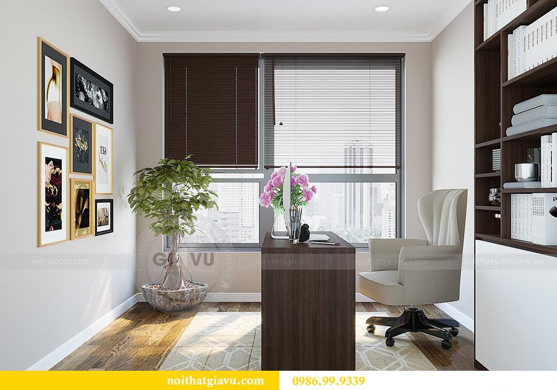 Thiết kế nội thất chung cư Green Bay tòa G3 đẹp hiện đại 15