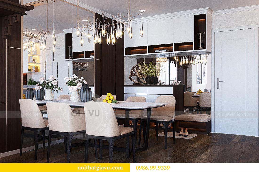 Thiết kế nội thất chung cư Green Bay tòa G3 đẹp hiện đại 2