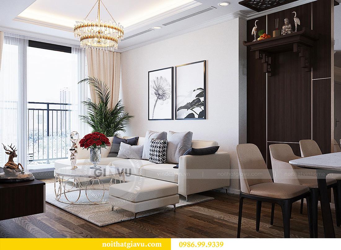 Thiết kế nội thất chung cư Green Bay tòa G3 đẹp hiện đại 5
