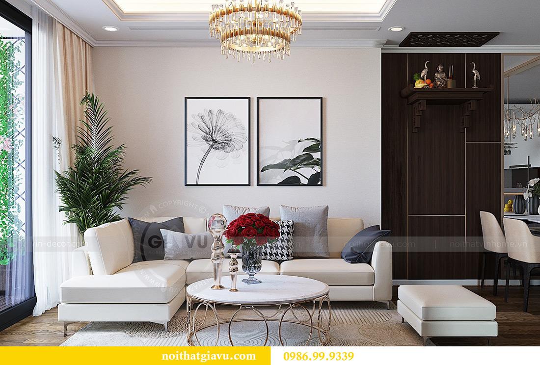 Thiết kế nội thất chung cư Green Bay tòa G3 đẹp hiện đại 6