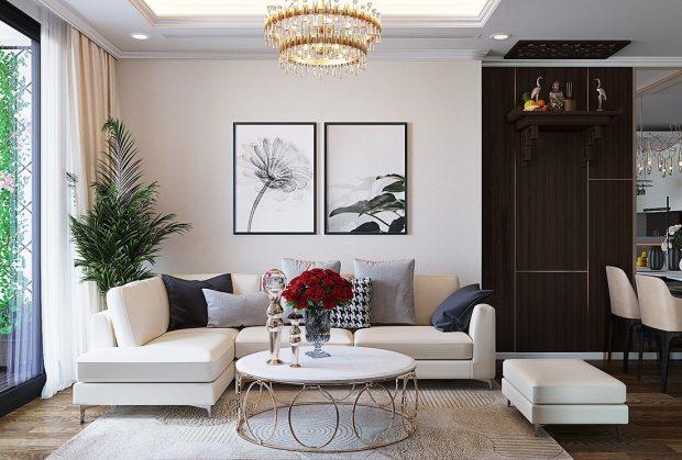 Thiết kế nội thất chung cư Green Bay tòa G3 đẹp hiện đại