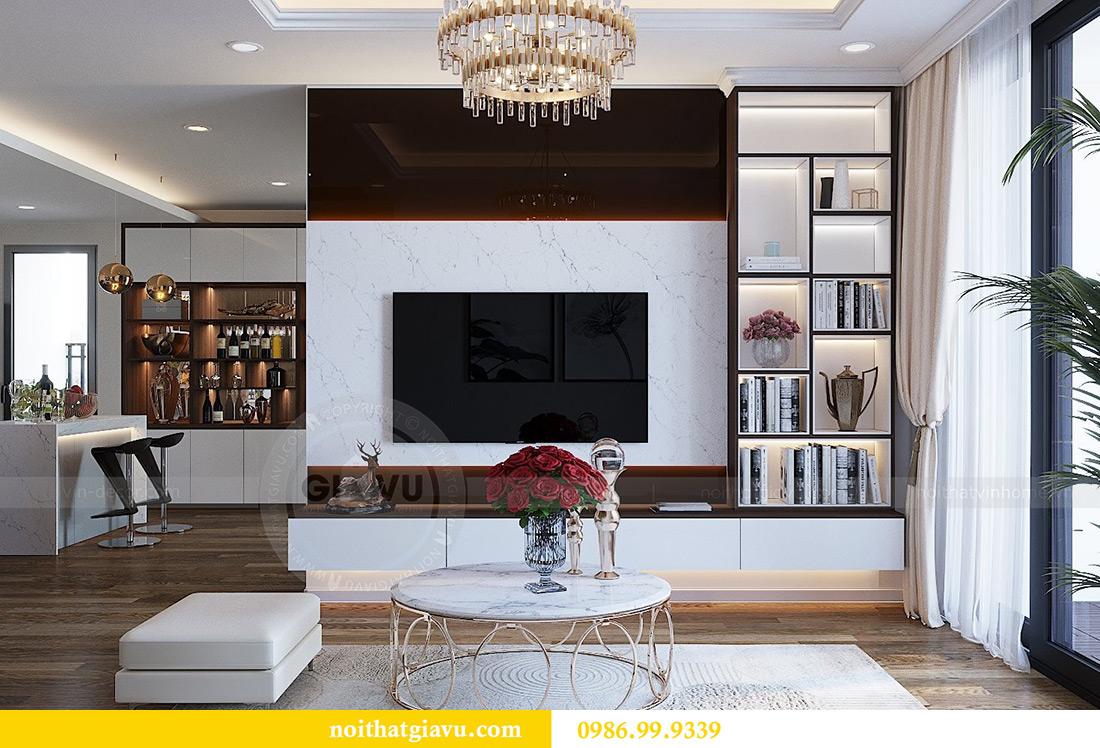 Thiết kế nội thất chung cư Green Bay tòa G3 đẹp hiện đại 7