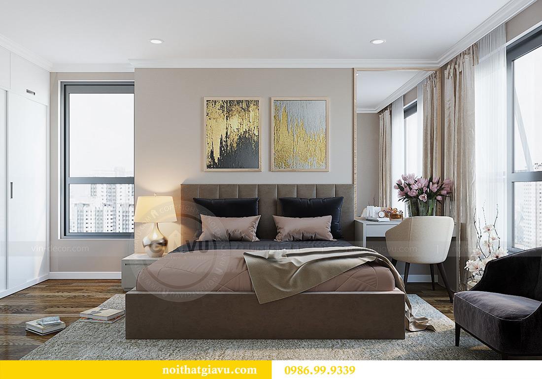 Thiết kế nội thất chung cư Green Bay tòa G3 đẹp hiện đại 8