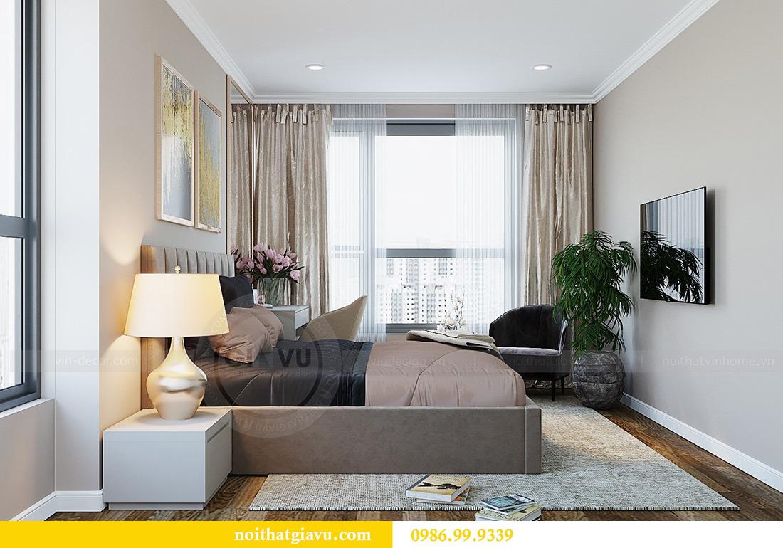 Thiết kế nội thất chung cư Green Bay tòa G3 đẹp hiện đại 9