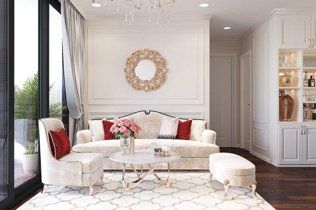Thiết kế nội thất chung cư Liễu Giai tòa M1 căn 11A – nhà chị Vân
