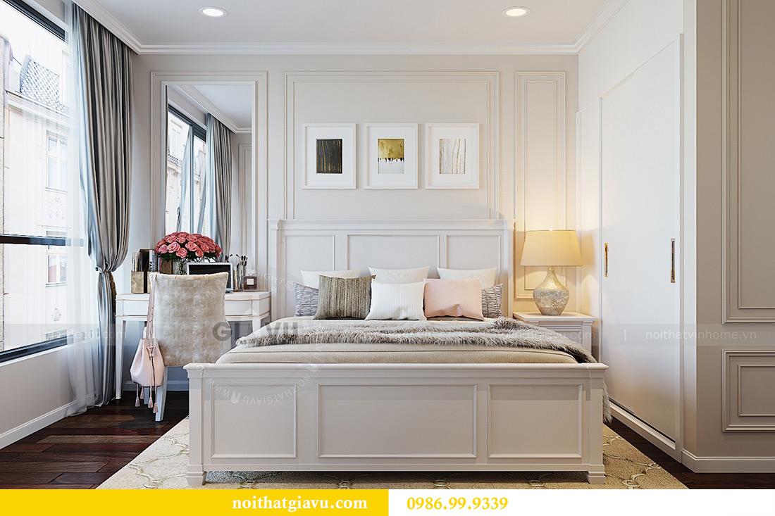 Thiết kế nội thất chung cư Liễu Giai tòa M1 căn 11A - nhà chị Vân 8