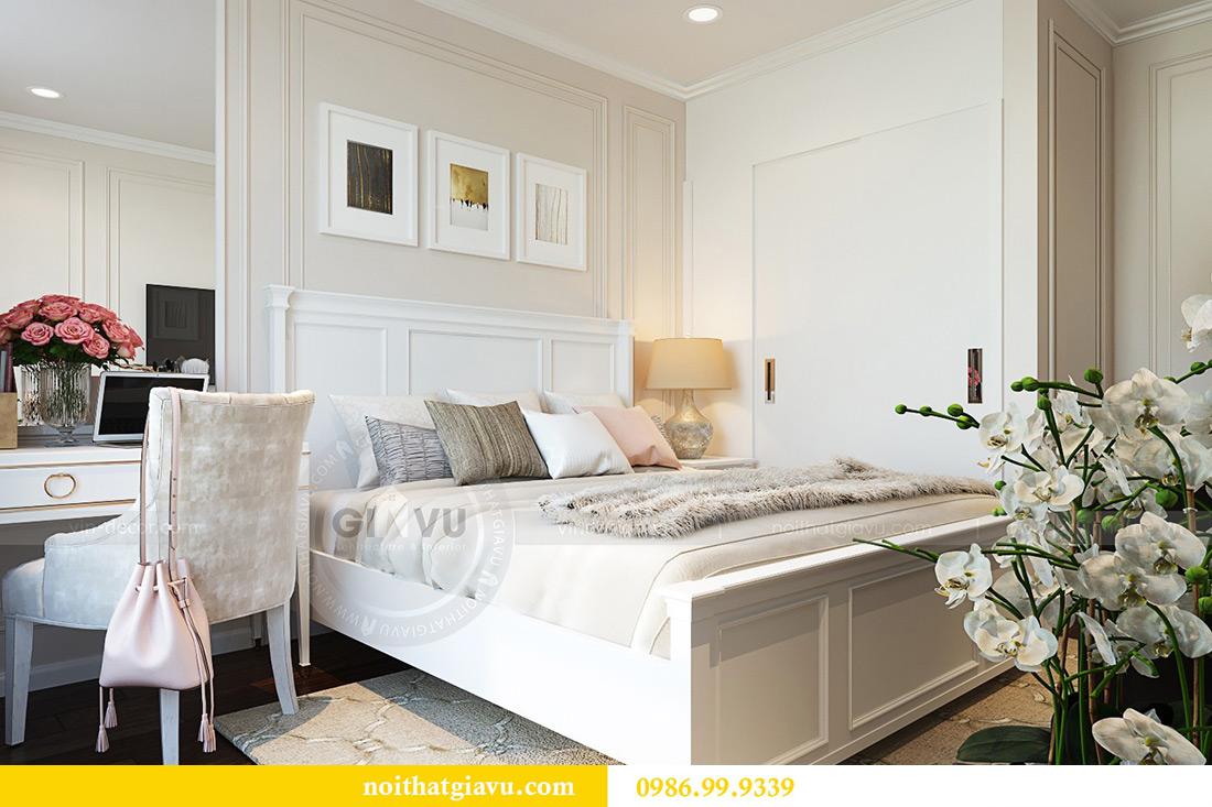 Thiết kế nội thất chung cư Liễu Giai tòa M1 căn 11A - nhà chị Vân 9