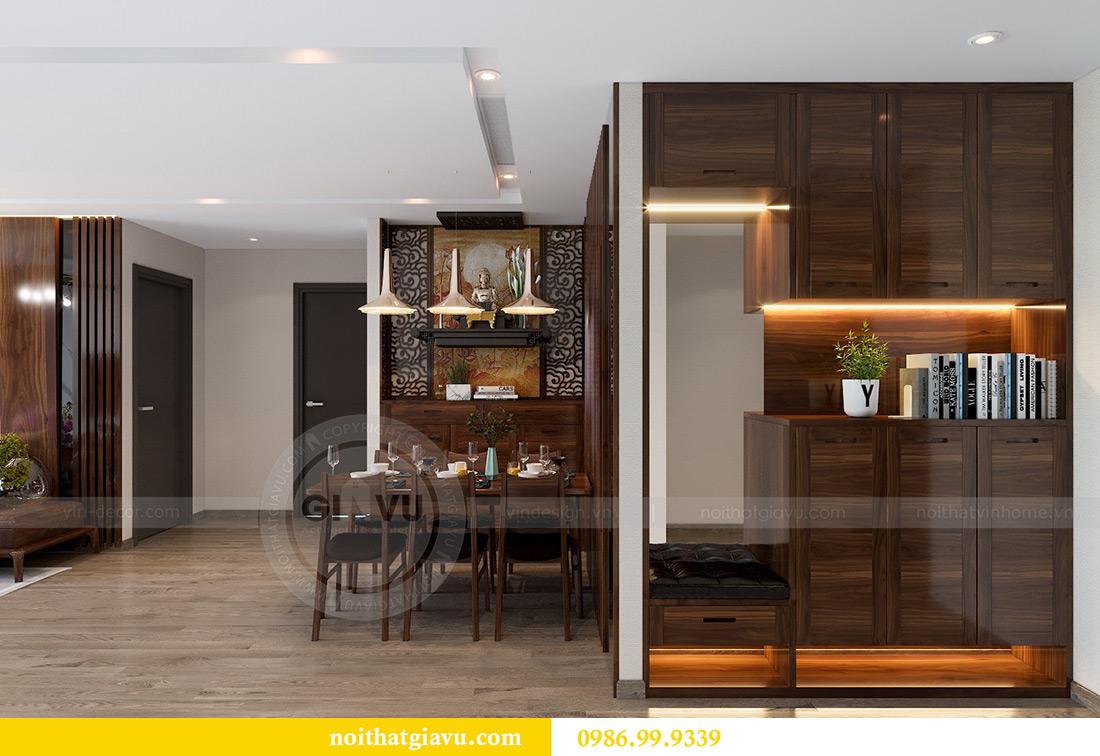 Thiết kế thi công căn hộ Vinhomes Metropolis tòa M2 căn 02 - chú Bình 1