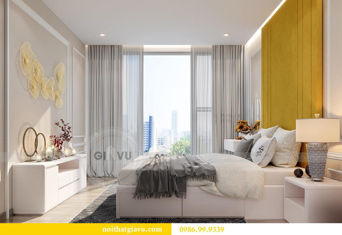 Thiết kế thi công căn hộ Vinhomes Metropolis tòa M2 căn 02 - chú Bình 14