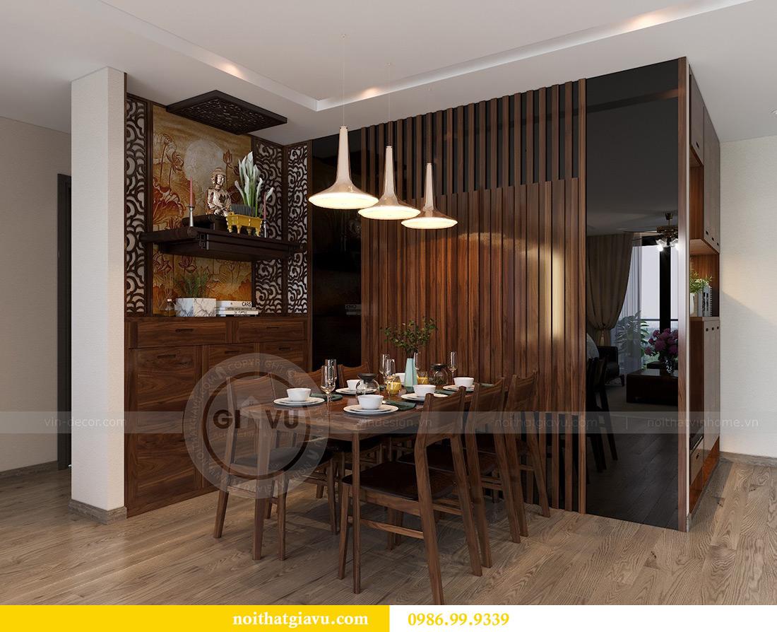 Thiết kế thi công căn hộ Vinhomes Metropolis tòa M2 căn 02 - chú Bình 2