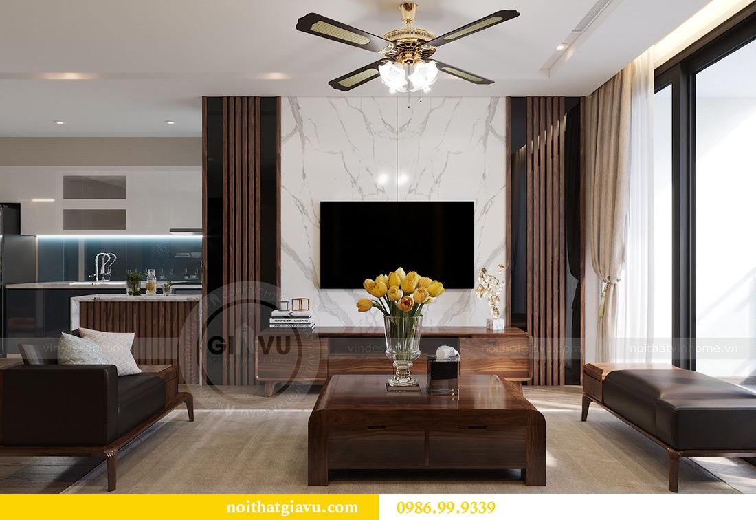 Thiết kế thi công căn hộ Vinhomes Metropolis tòa M2 căn 02 - chú Bình 3