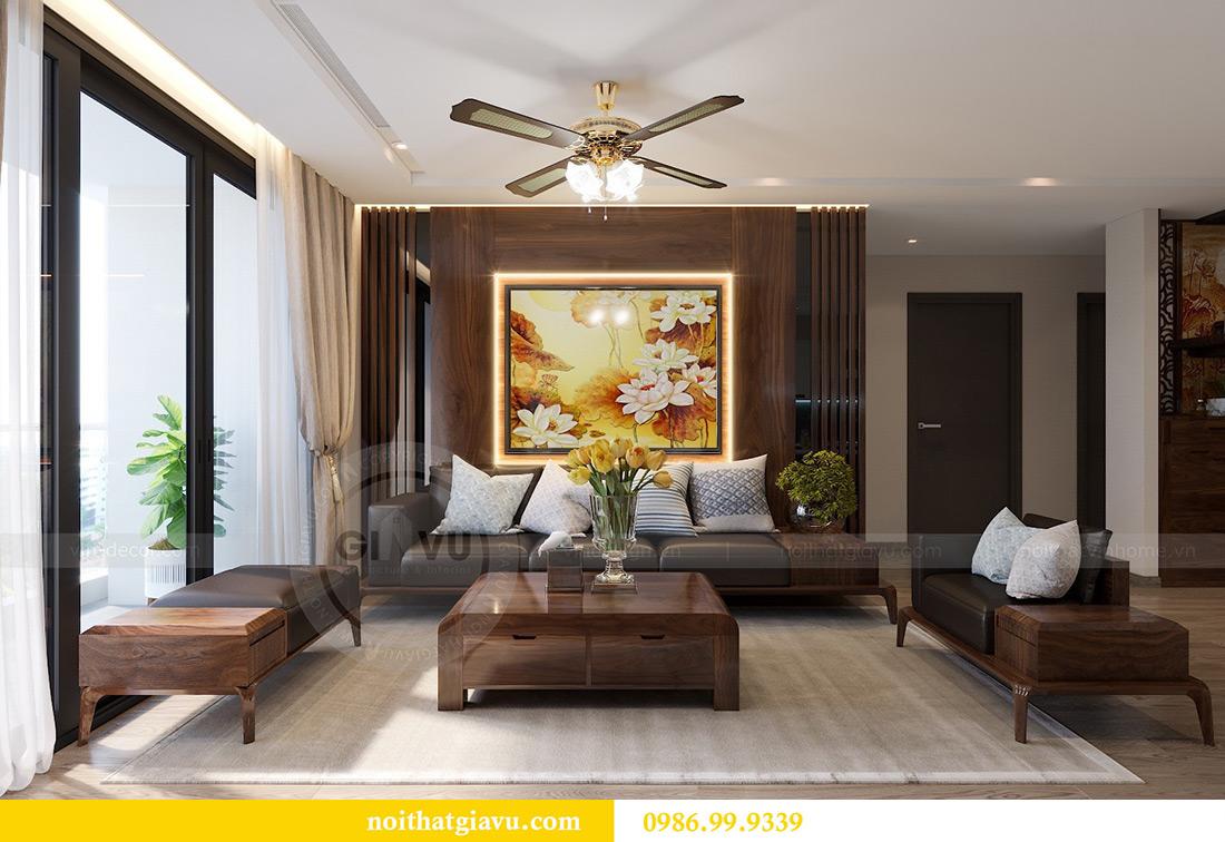 Thiết kế thi công căn hộ Vinhomes Metropolis tòa M2 căn 02 - chú Bình 4
