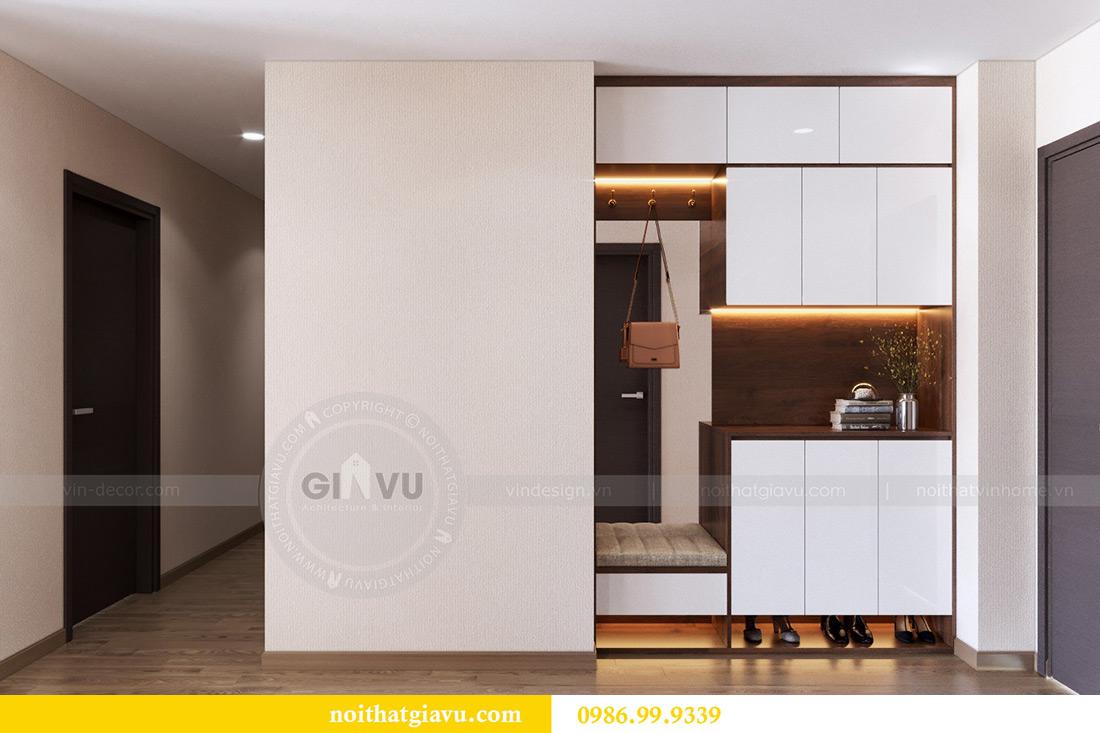 Thiết kế nội thất căn hộ Metropolis tòa M3 12 nhà chị Tảo 1
