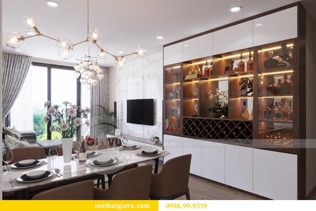 Thiết kế nội thất căn hộ Metropolis tòa M3 12 nhà chị Tảo 3