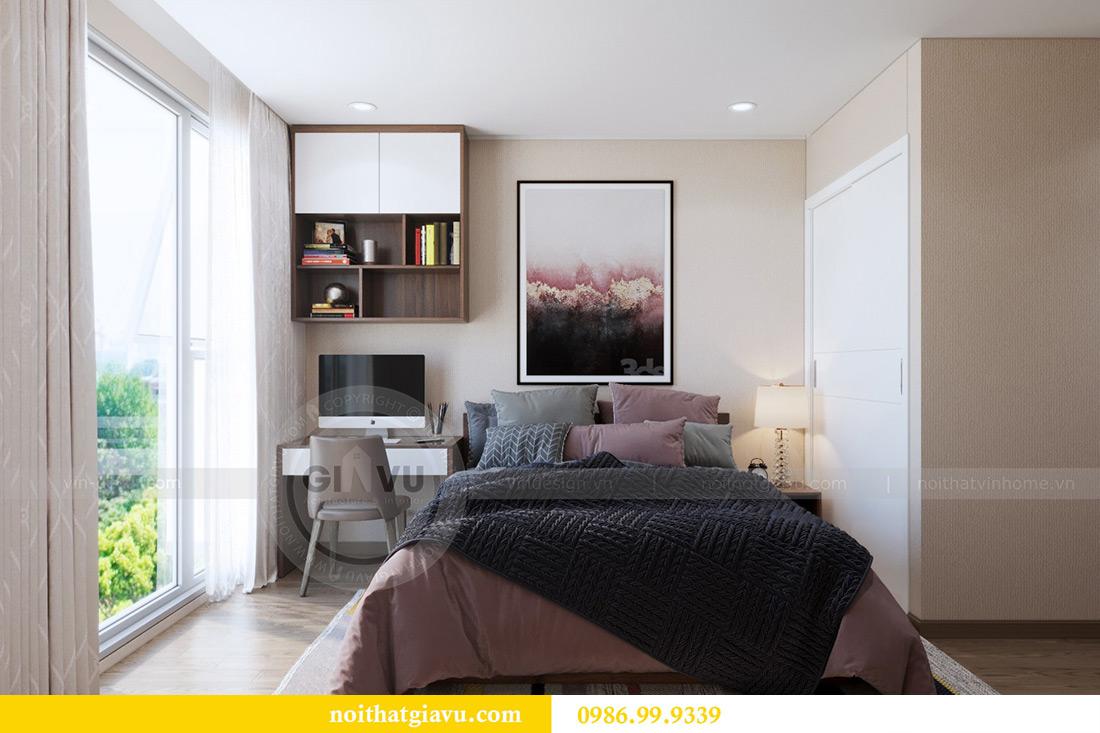 Thiết kế nội thất căn hộ Metropolis tòa M3 12 nhà chị Tảo 7