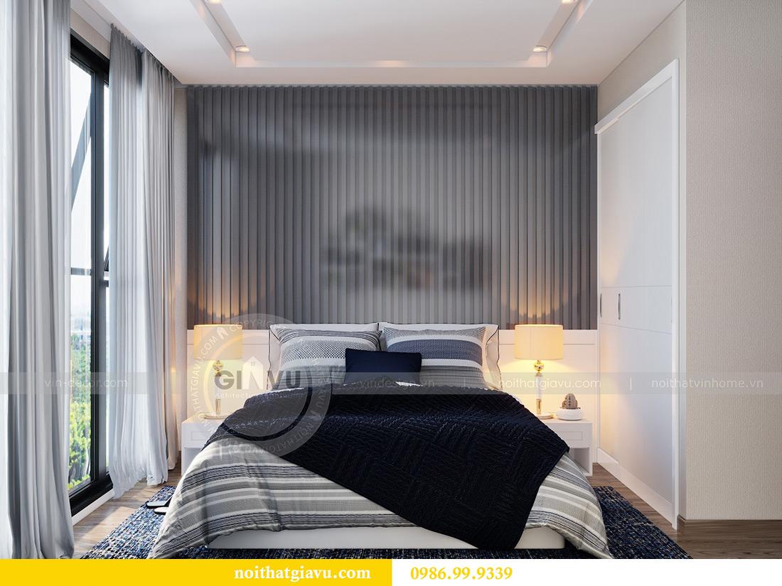 Thiết kế nội thất chung cư Liễu Giai tòa M2 căn 11 nhà anh Thắng 11