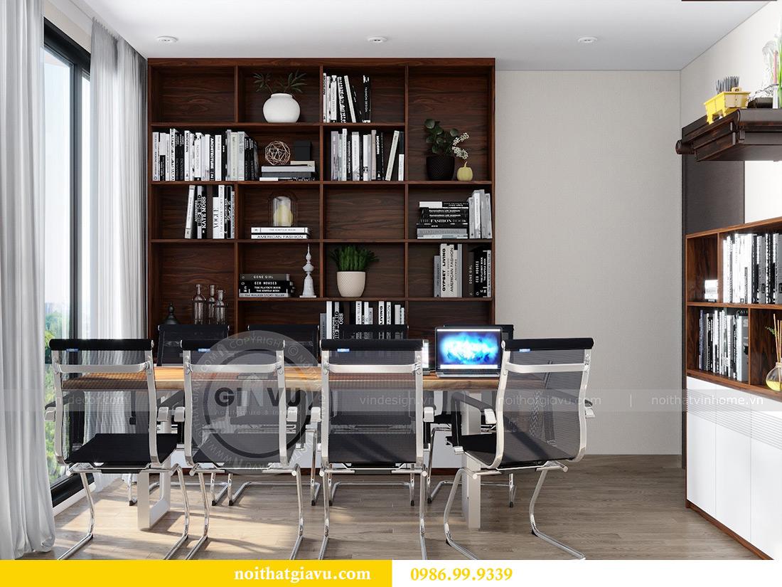 Thiết kế nội thất chung cư Liễu Giai tòa M2 căn 11 nhà anh Thắng 13