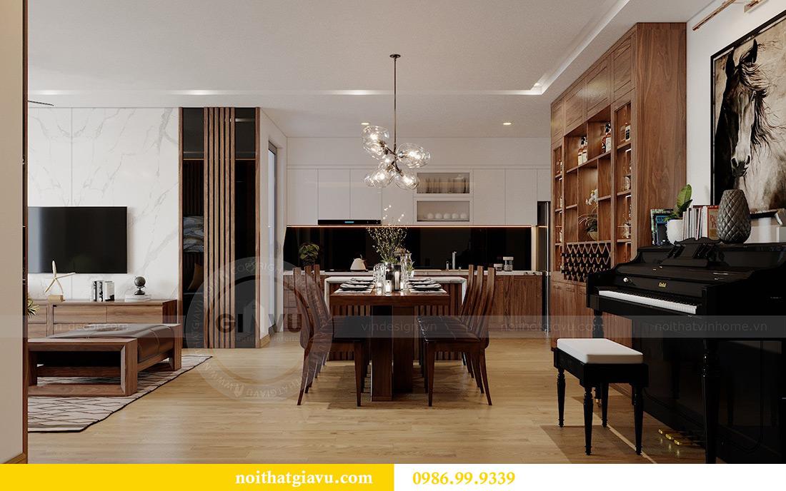 Thiết kế nội thất chung cư Liễu Giai tòa M2 căn 11 nhà anh Thắng 4