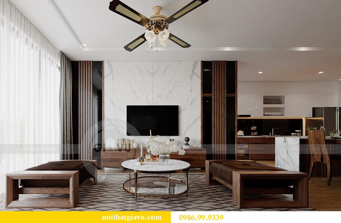 Thiết kế nội thất chung cư Liễu Giai tòa M2 căn 11 nhà anh Thắng 5