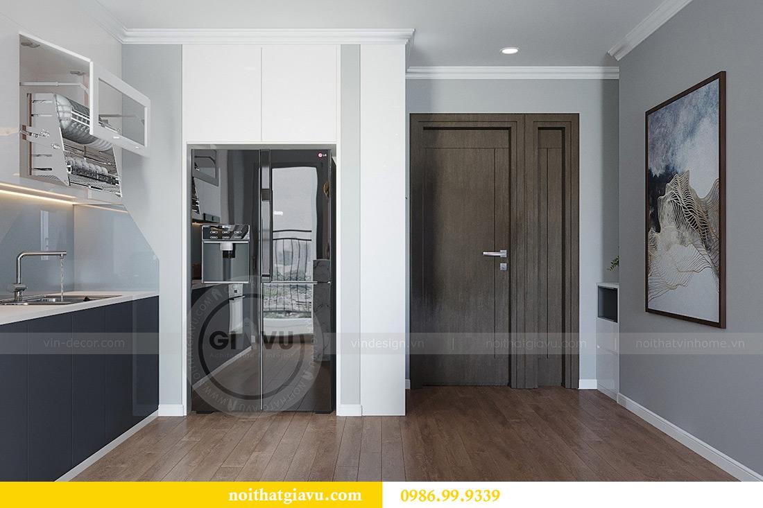 Thiết kế thi công nội thất chung cư Liễu Giai căn 07 tòa M3 - chị Thương 1