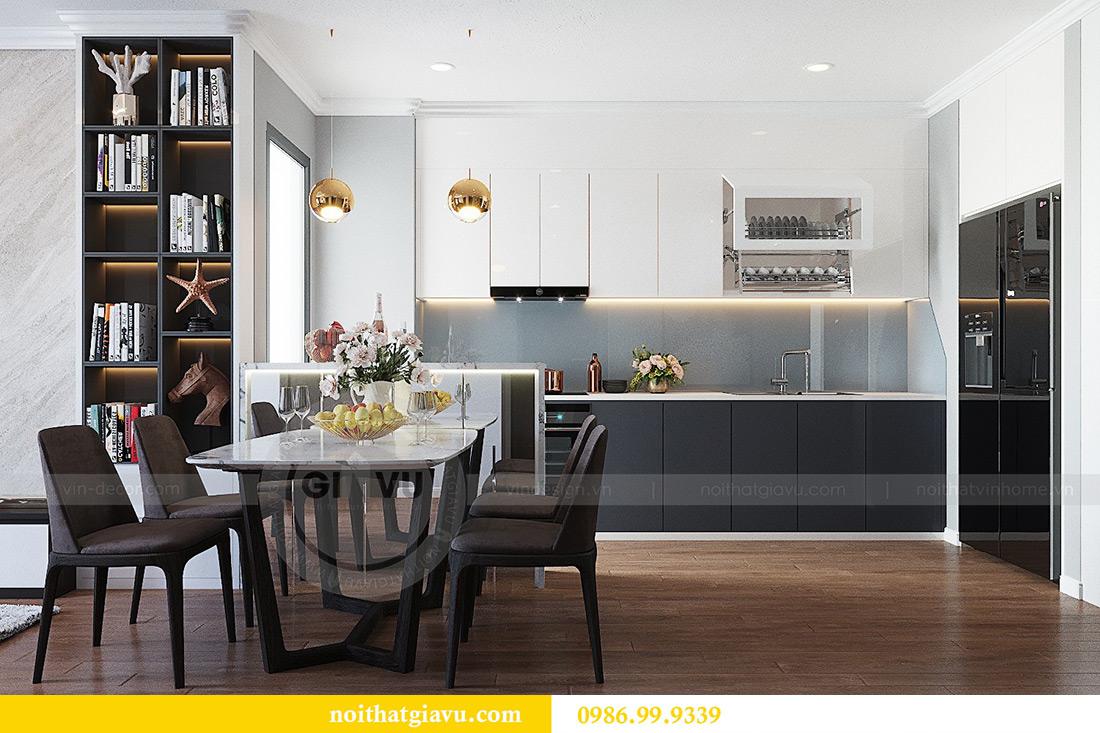 Thiết kế thi công nội thất chung cư Liễu Giai căn 07 tòa M3 - chị Thương 3