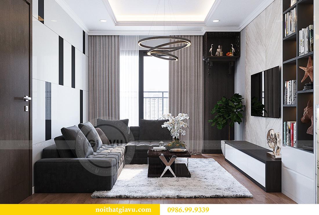 Thiết kế thi công nội thất chung cư Liễu Giai căn 07 tòa M3 - chị Thương 4