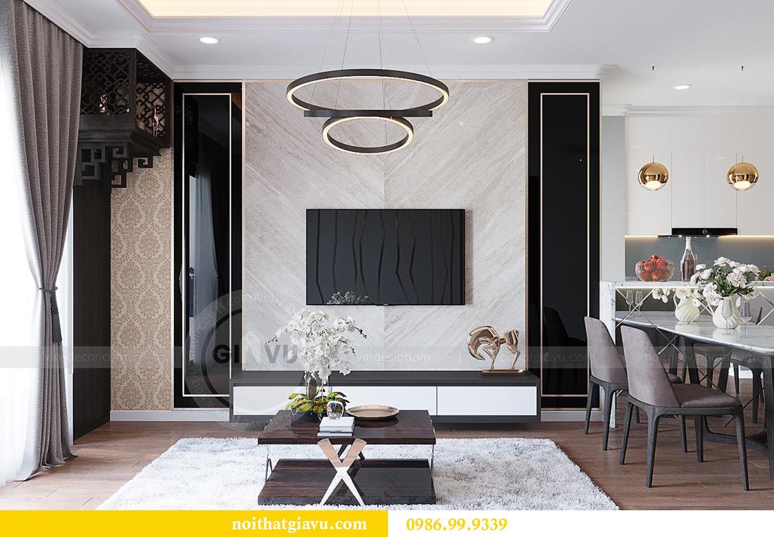 Thiết kế thi công nội thất chung cư Liễu Giai căn 07 tòa M3 - chị Thương 5