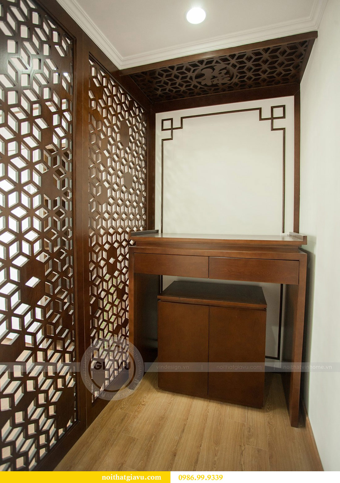 Hoàn thiện nội thất chung cư Seasons Avenue tòa S3 căn 01 - anh Bách 14