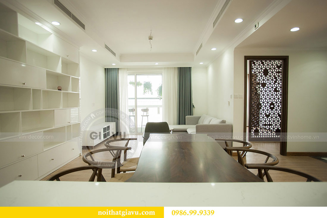 Hoàn thiện nội thất chung cư Seasons Avenue tòa S3 căn 01 - anh Bách 8