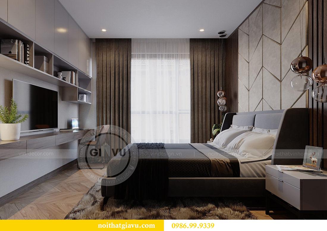 Thiết kế chung cư Vinhomes Green Bay tòa G2 căn 15B - Anh Thắng 10